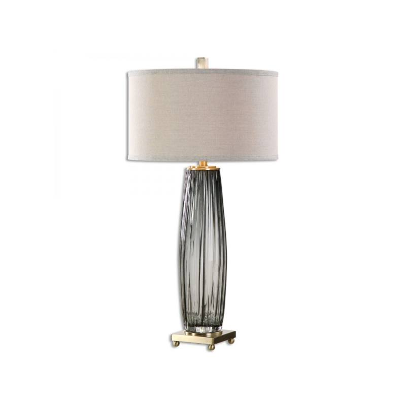 Olong Table Lamp, Gray