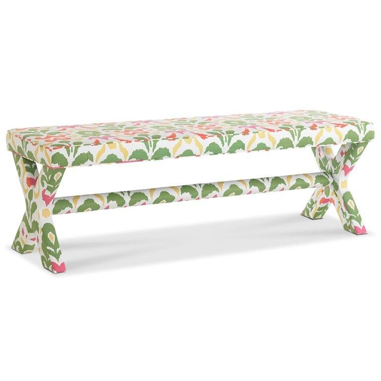 Dana Gibson Surrey Upholstered Bench