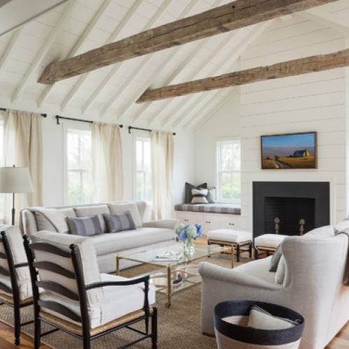 FIxer Upper Inspiration modern farmhouse living room