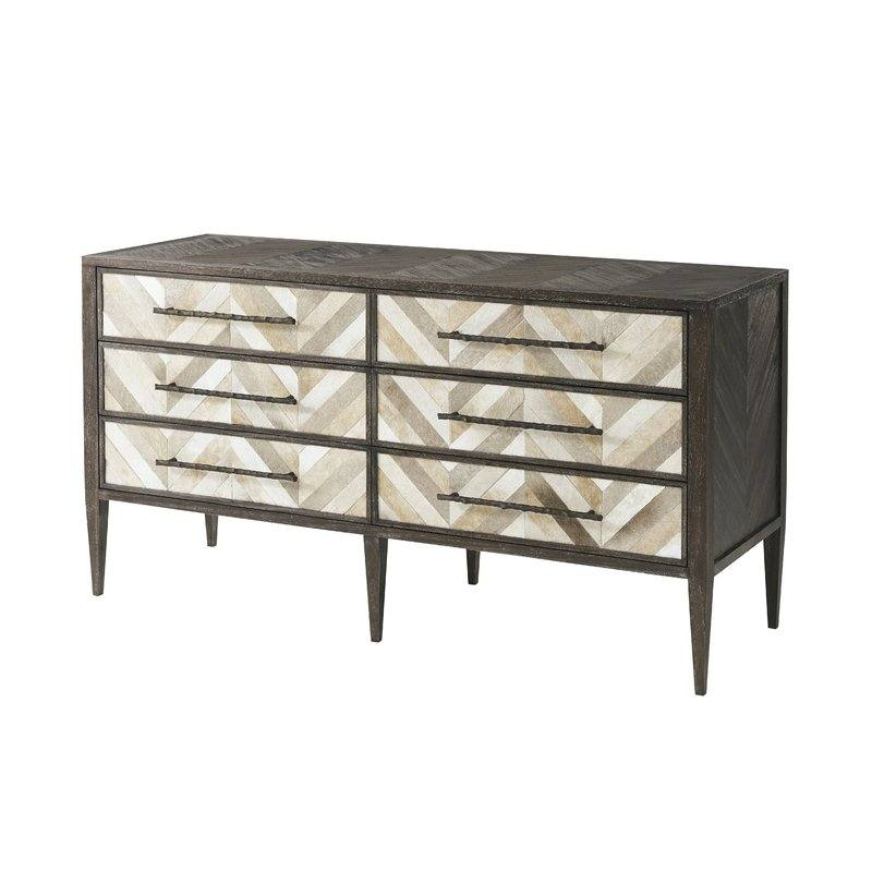 Marco 6 Drawer Double Dresser