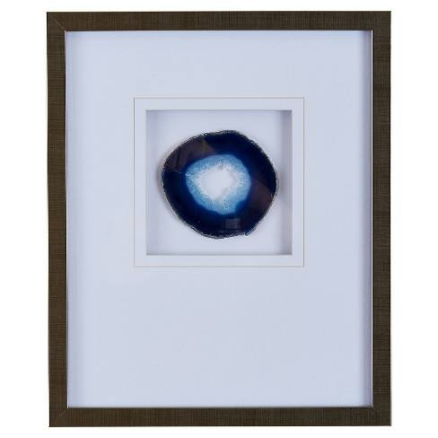 "Agate Stone Framed Graphic (4"" Agate)"