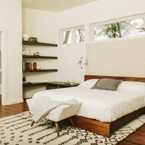 Mid-Century Modern Bedroom by Baxter Design Group