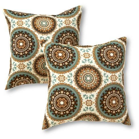 Outdoor Accent Pillow Set - Spray - Greendale Home Fashions