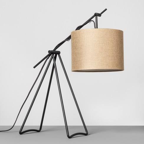 Charcoal Tripod Table Lamp - Hearth & Hand� with Magnolia