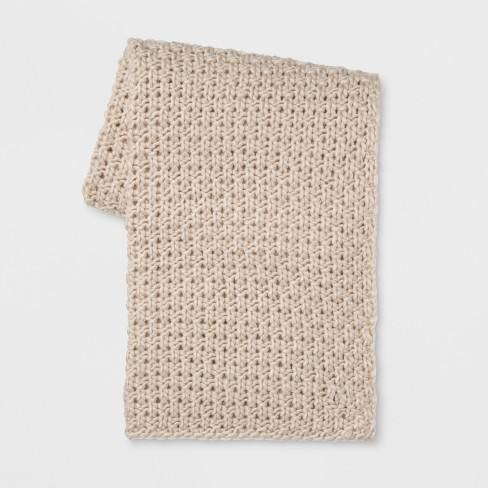 Chunky Knit Throw - Threshold�