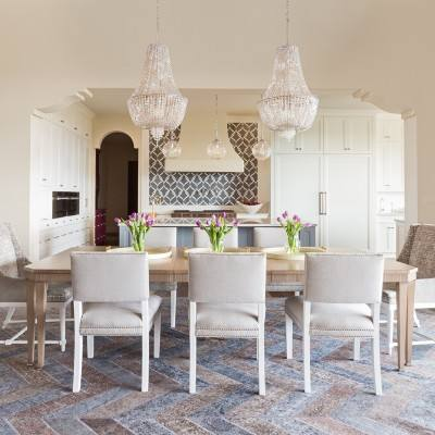 Get the Look: A new take on traditional style dining room