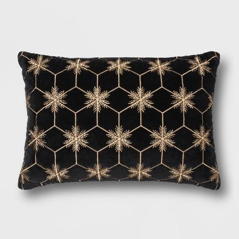 Metallic Star Lumbar Throw Pillow - Project 62�