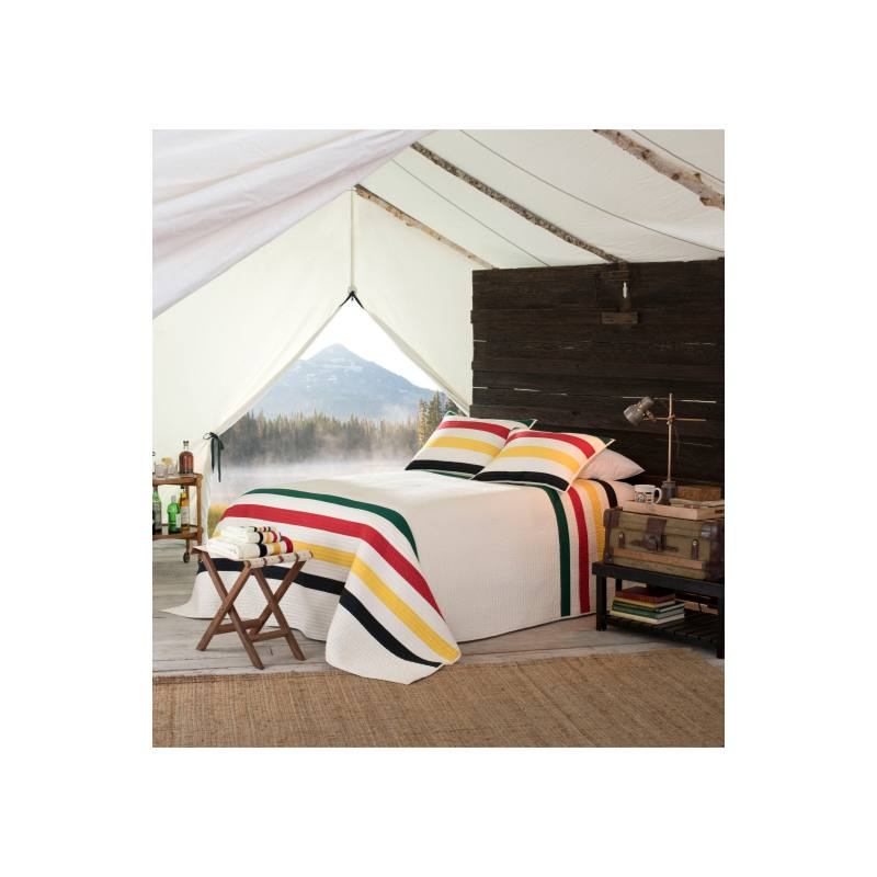 National Park Stripe Quilt & Sham Set