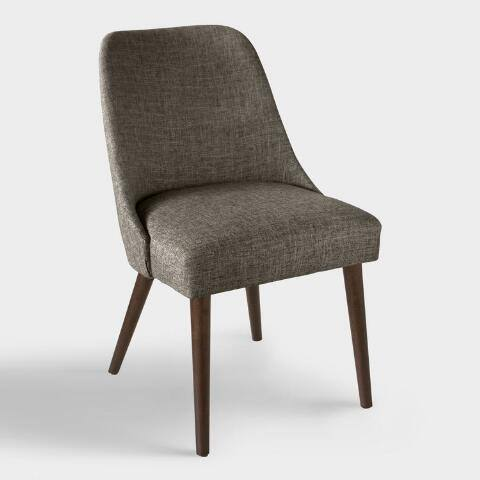 Linen Blend Kian Upholstered Dining Chair