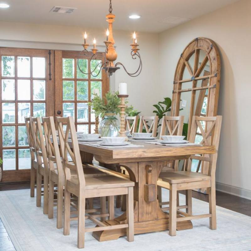 Fixer Upper elegant dining room