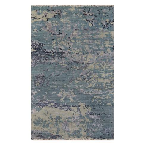 Terra Sinclair Splatter Knotted Accent Rug - Momeni