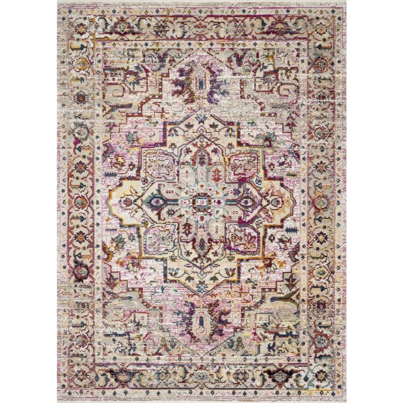 Justina Blakeney Silvia Rug, Natural Multi
