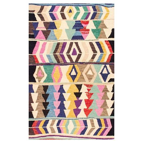 Hand Tufted Ofelia Multi-colored Rug - nuLOOM