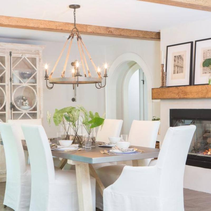 Fixer Upper Jackson dining room