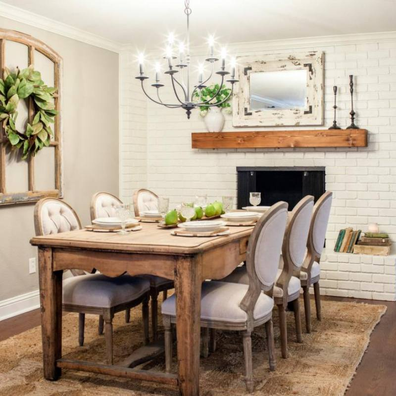Fixer Upper Haire dining room