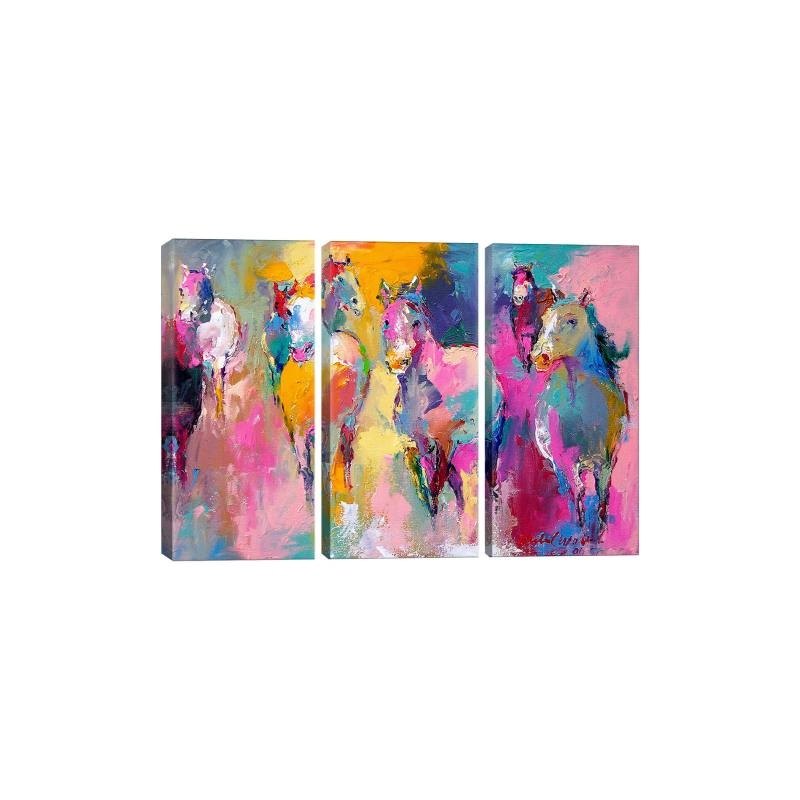 Wild by Richard Wallich Gicl�e Print Canvas Triptych