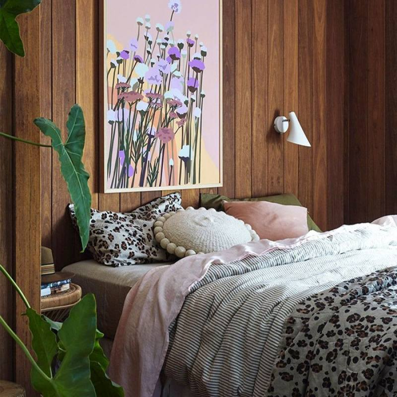 Vibrant Boho Chic Bedroom