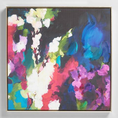 Floral Abstract Wall Art