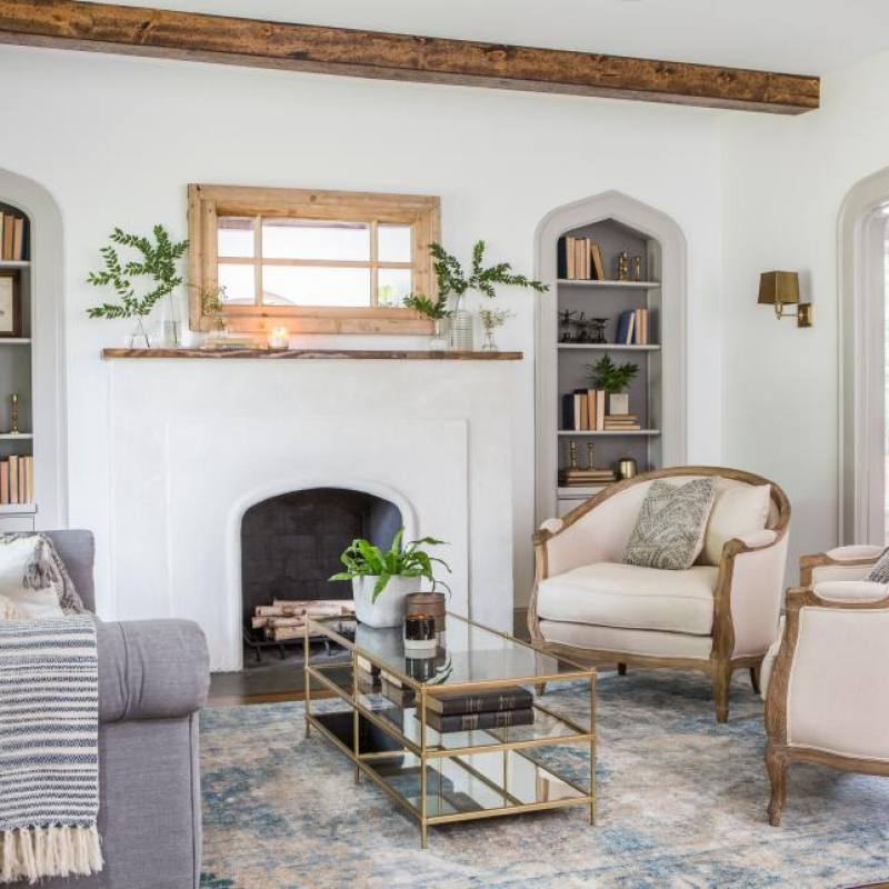 Fixer Upper Living Rooms