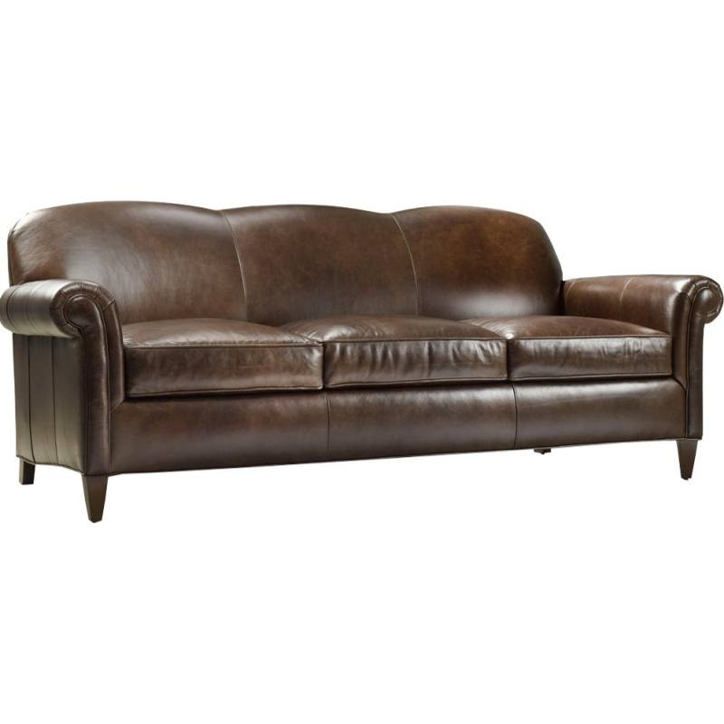 George Leather Sofa