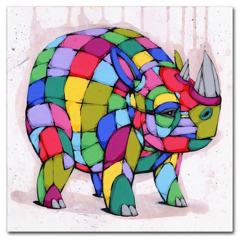Born Colorful' by Ric Stultz Ready to Hang Canvas Wall Art