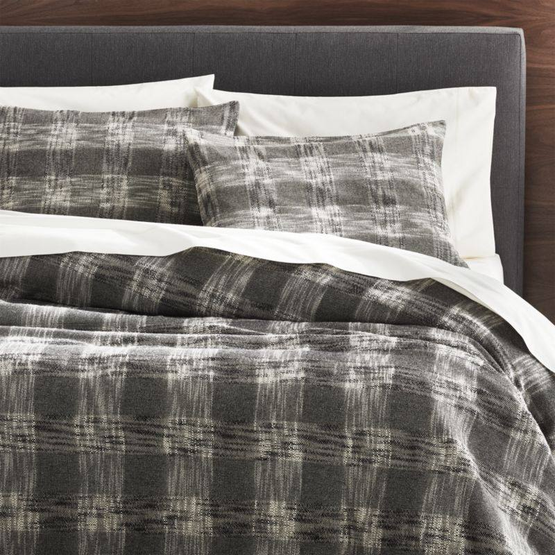 Lindstrom Lattice Duvet Covers and Pillow Shams