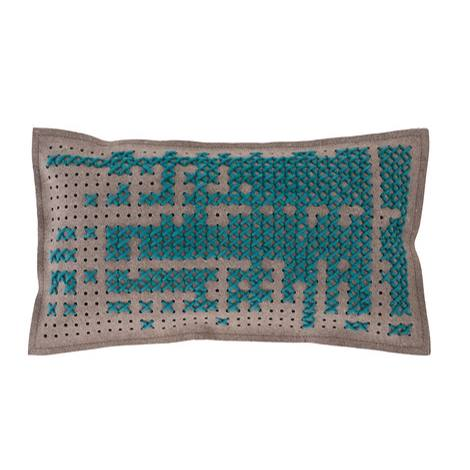 Canevas Small Rectangular Abstract Cushion
