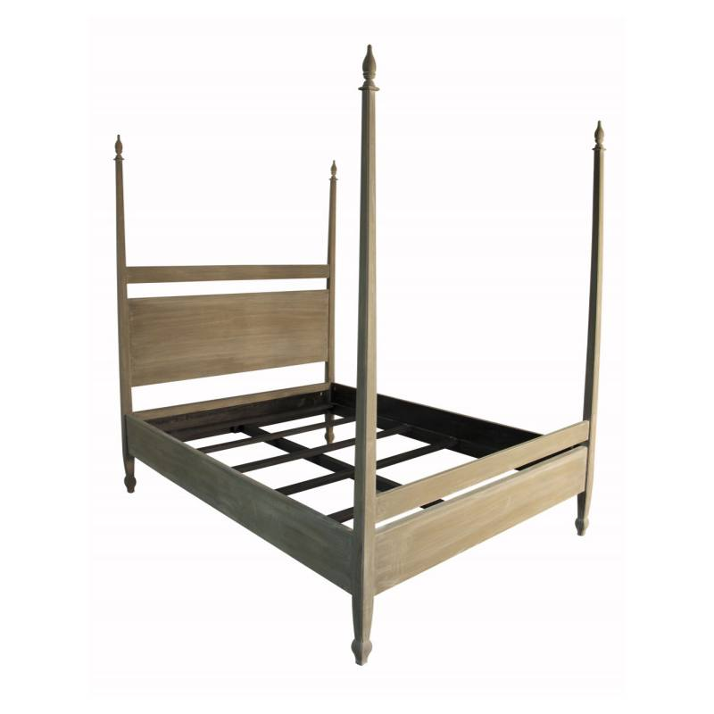 Dawn Bed, Weathered Neutral