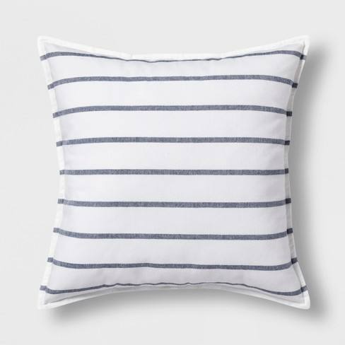 Woven Stripe Oversize Square Throw Pillow - Threshold�