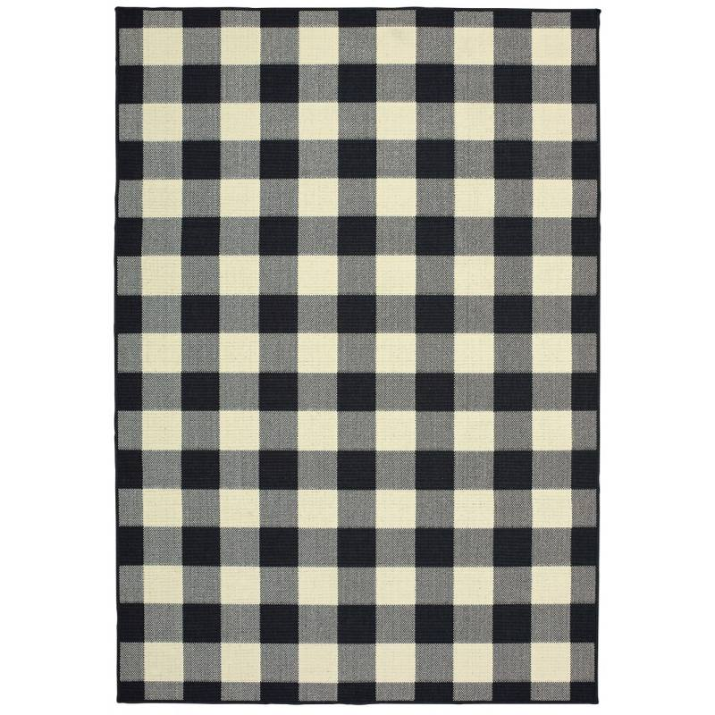 Blair Indoor/Outdoor Rug, Black