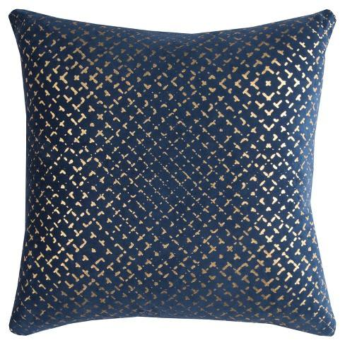 Rizzy Home Transitional Geometric Throw Pillow