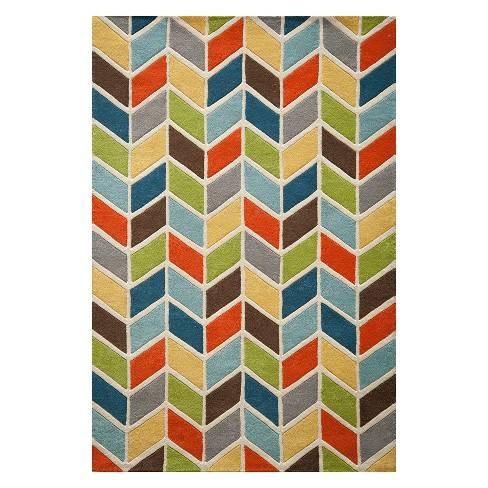 Delhi Briar Geometric Tufted Accent Rug - Momeni