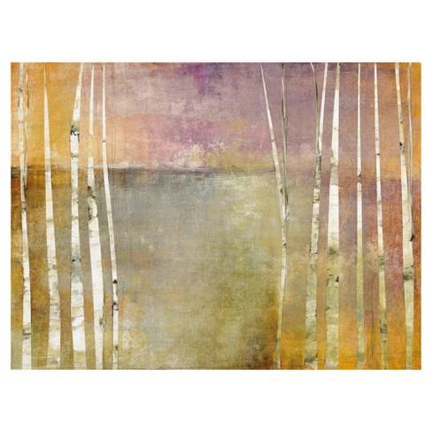 "30""x40"" Birch 3 By Maeve Harris Art On Canvas - Fine Art Canvas"