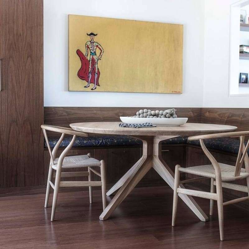 Get the look: Contemporary minimalist dining nook
