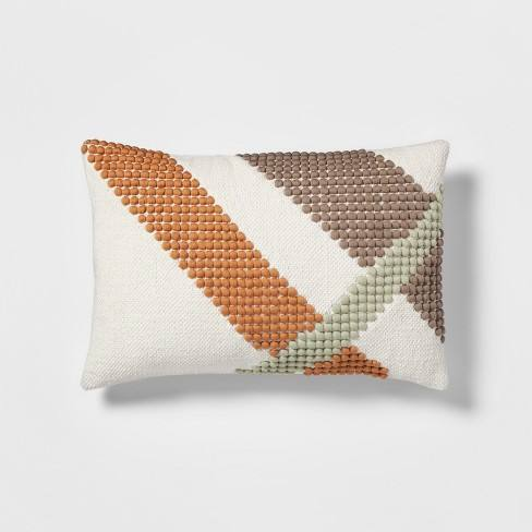 Multi Bubble Geo Lumbar Throw Pillow - Project 62�
