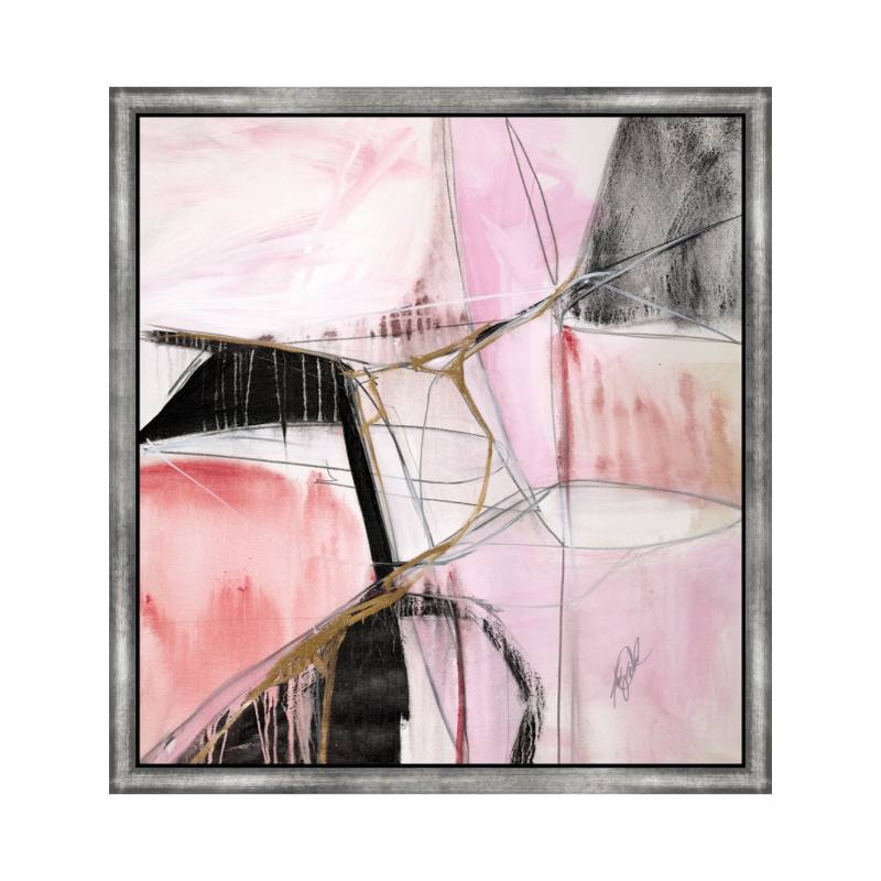 Pink Assemblage Wall Art