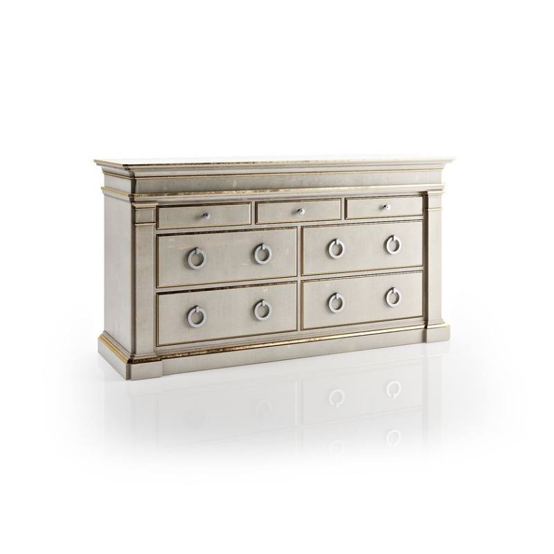 Rimini 5 Drawer Double Dresser