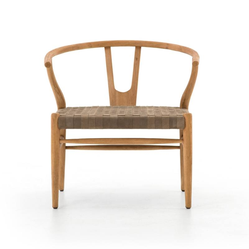 Kristie Accent Chair, Oak