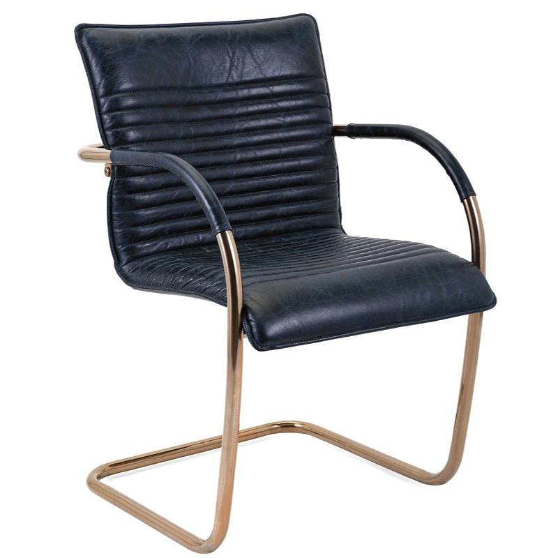 Nakasa Dobler Top Grain Leather Arm Chair