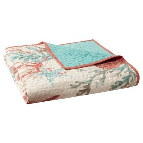 "Coral Branch Throw Blankets (""50X70"")"