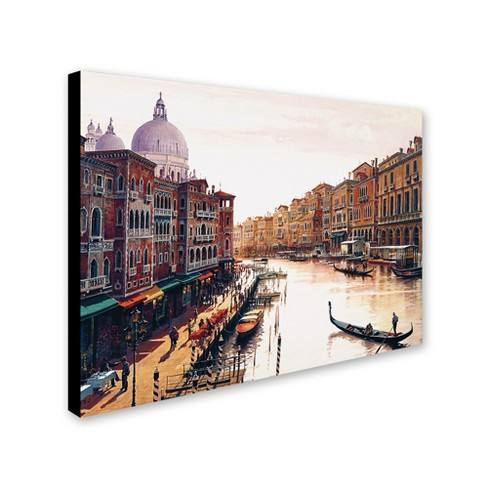 'Venice' by Hava Ready to Hang Canvas Wall Art