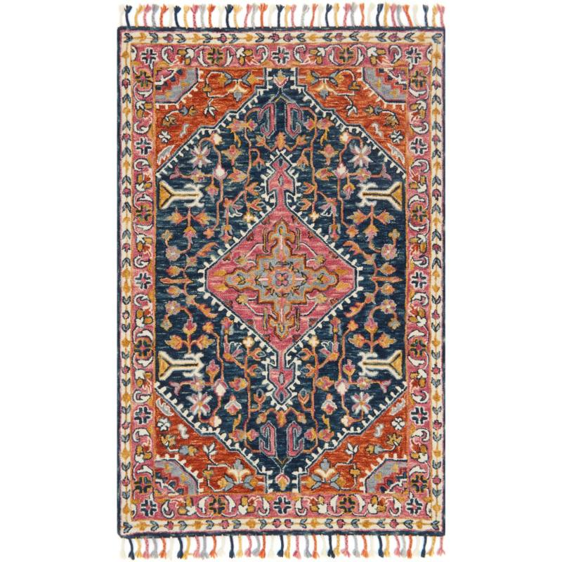Ede Rug, Orange and Pink