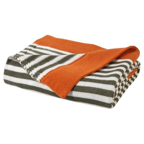 "Prepster Stripe Throw (50""x60"") - VCNY Home"