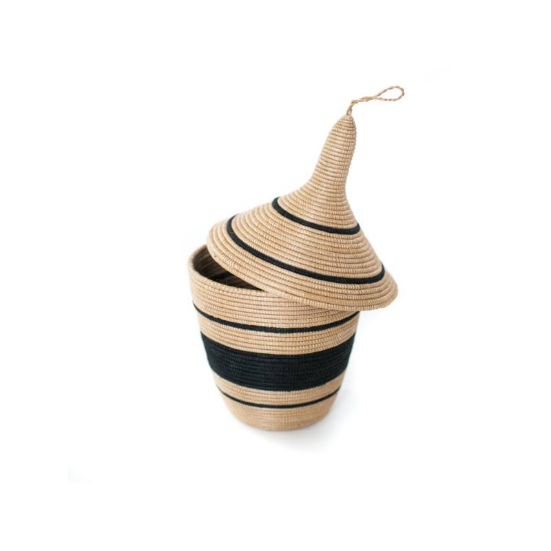 Local + Lejos Karongo Lidded Basket