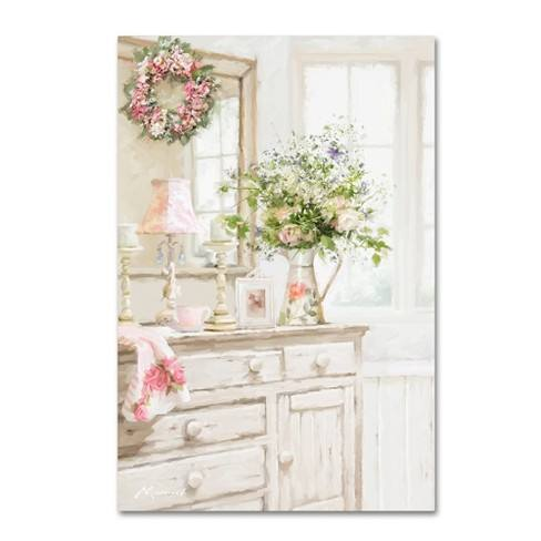The Macneil Studio Shabby Chic Unframed Wall Canvas- Trademark Fine Art