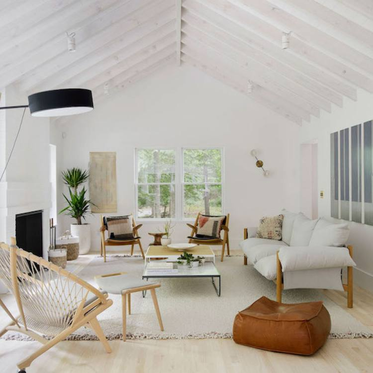 Nordic open living room