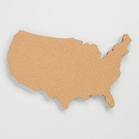 USA Map Bulletin Board
