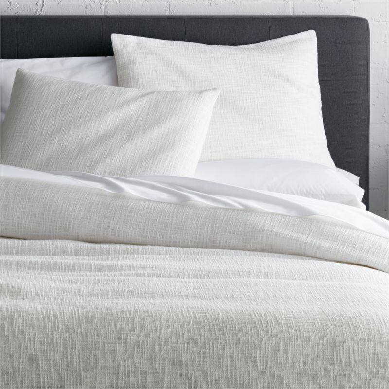 Lindstrom White Duvet Covers and Pillow Shams