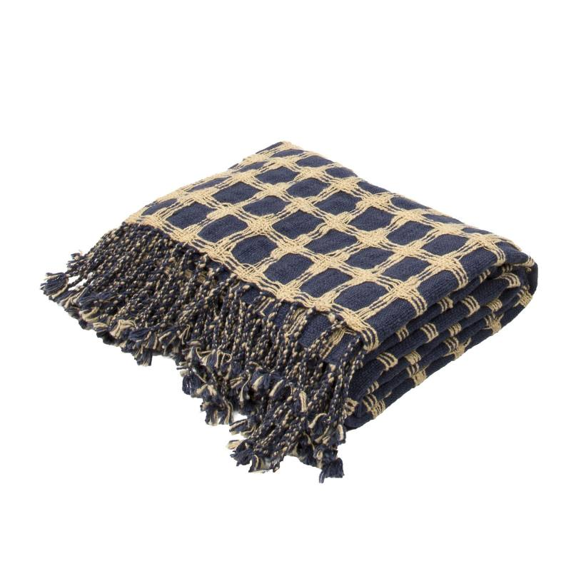 Satcha Throw, Blue