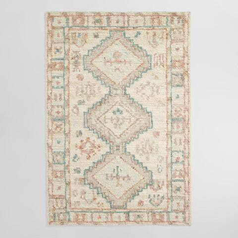 Diamond Hand Tufted Wool Paloma Area Rug